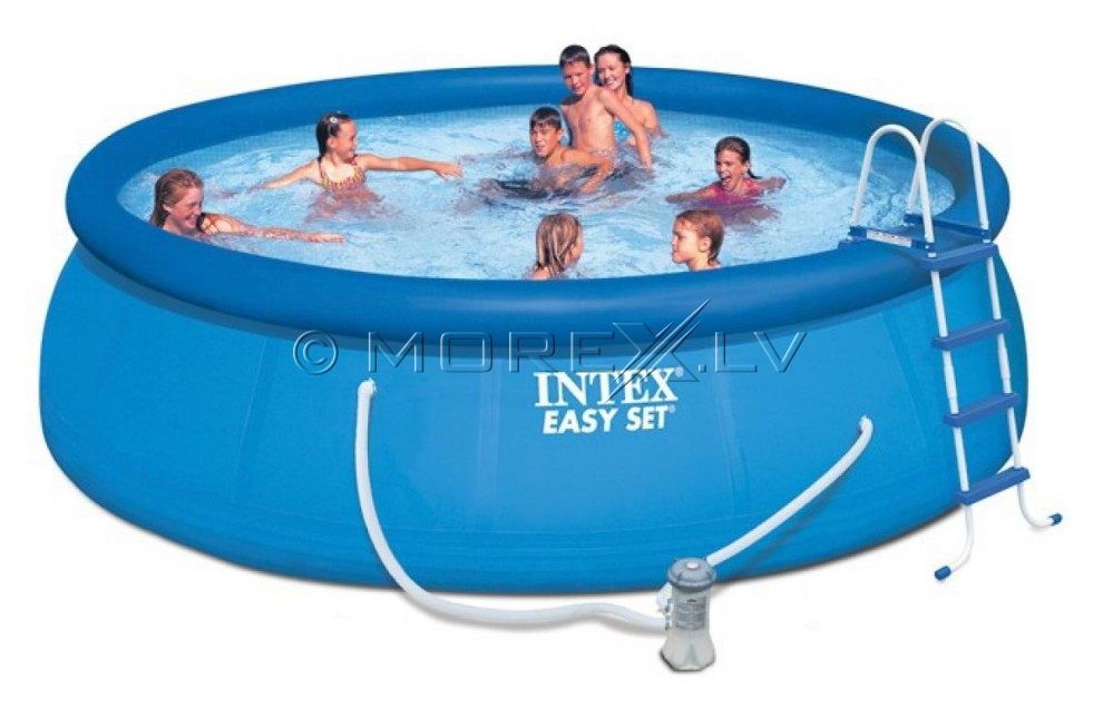 intex 28168np easy set pool 457 122 cartridge filter. Black Bedroom Furniture Sets. Home Design Ideas