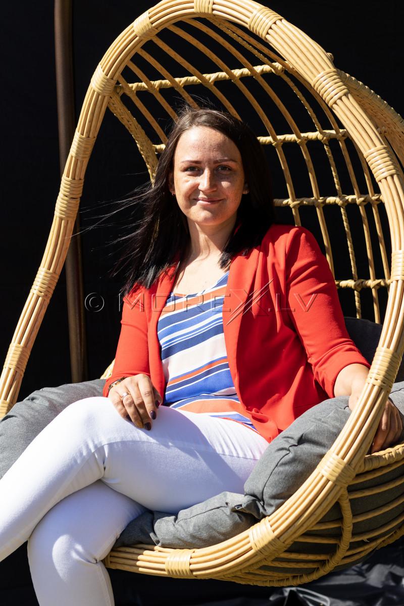 Dārza šūpuļkrēsls ar statīvu PATIO 47258