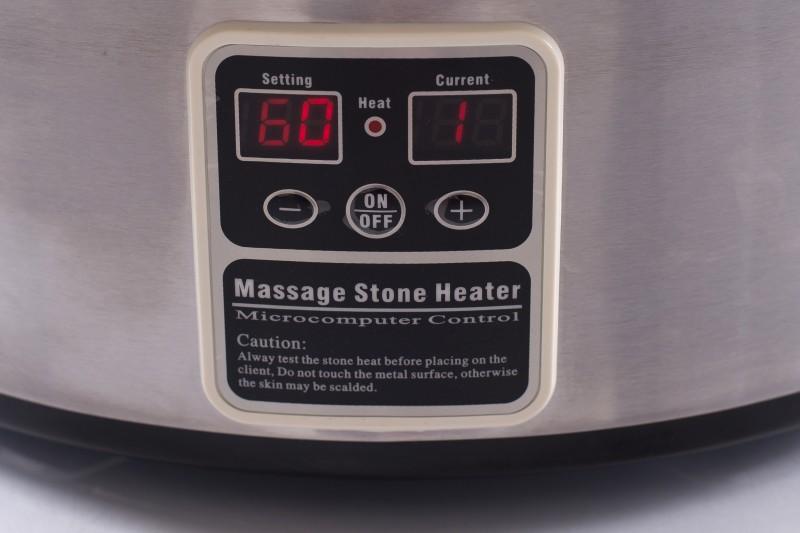 Karsto akmeņu sildītājs 6 litri (ar displeju) + karote