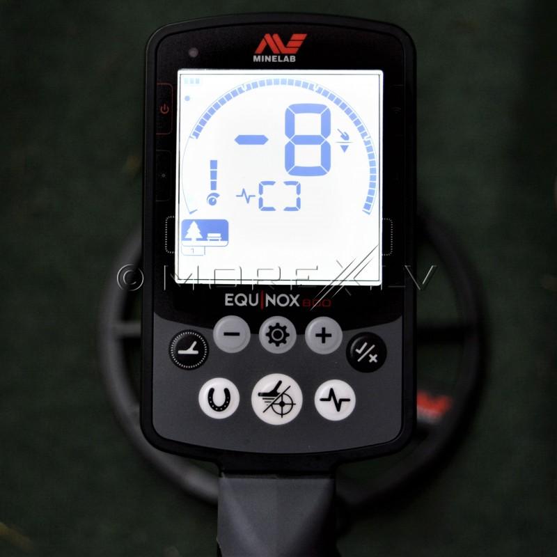 Minelab Equinox 800 metāla detektors