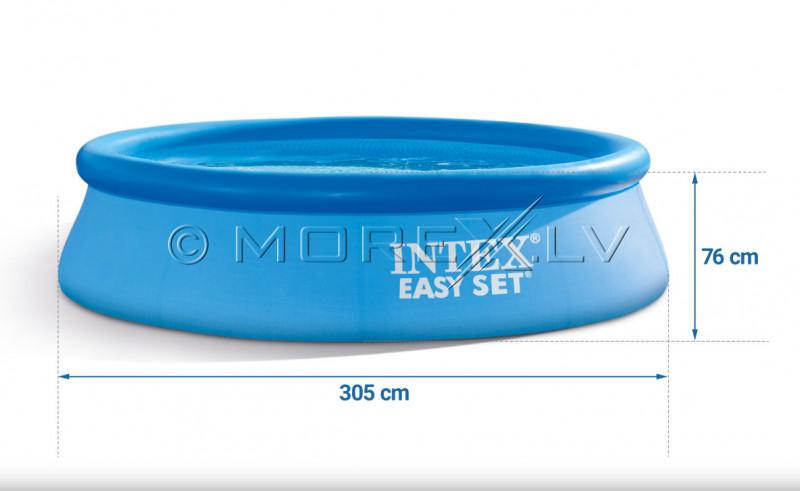 Baseins Intex Easy Set Pool 305х76 cm, ar filtra sūkni (28122)
