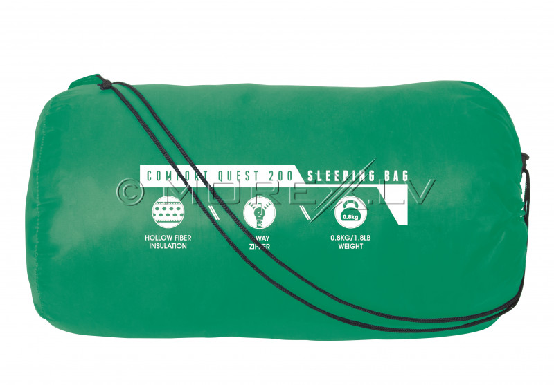 Guļammaiss Comfort Quest 200, 220x75x50 cm, zaļš 68054