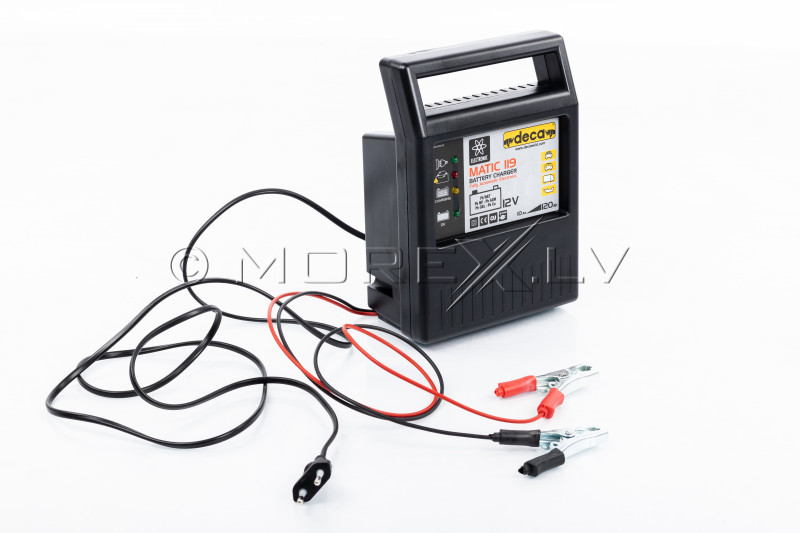 Pulse Battery Charger DECA 9A
