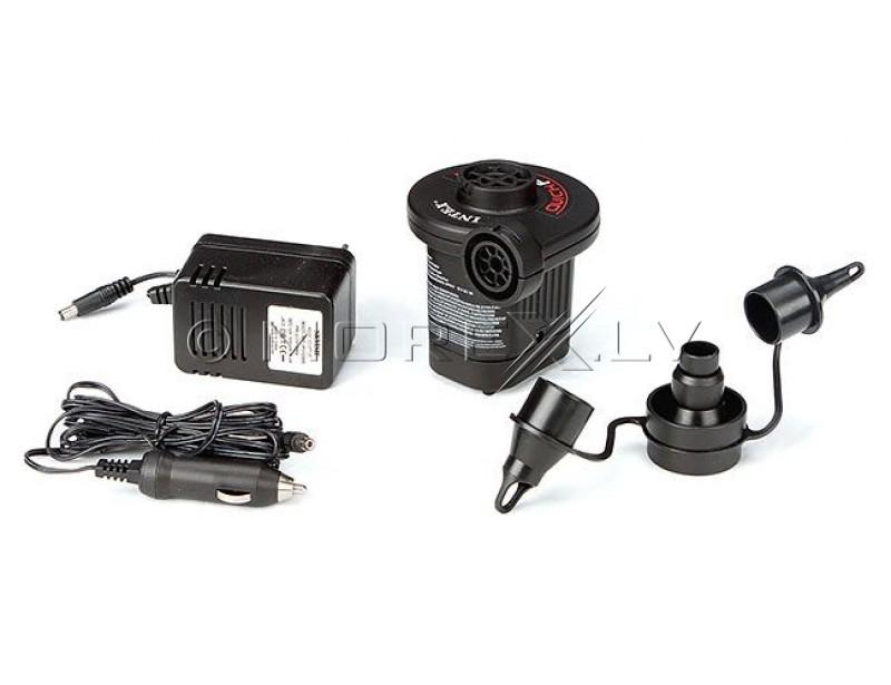 Pumpis elektriskais 230V/12V - INTEX 66632 QUICK-FILL AC/DC ELECTRIC PUMP