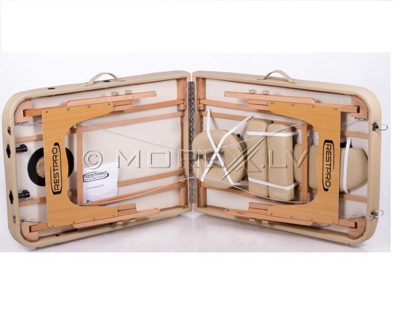 RESTPRO® Memory 3 Beige Portable Massage Table