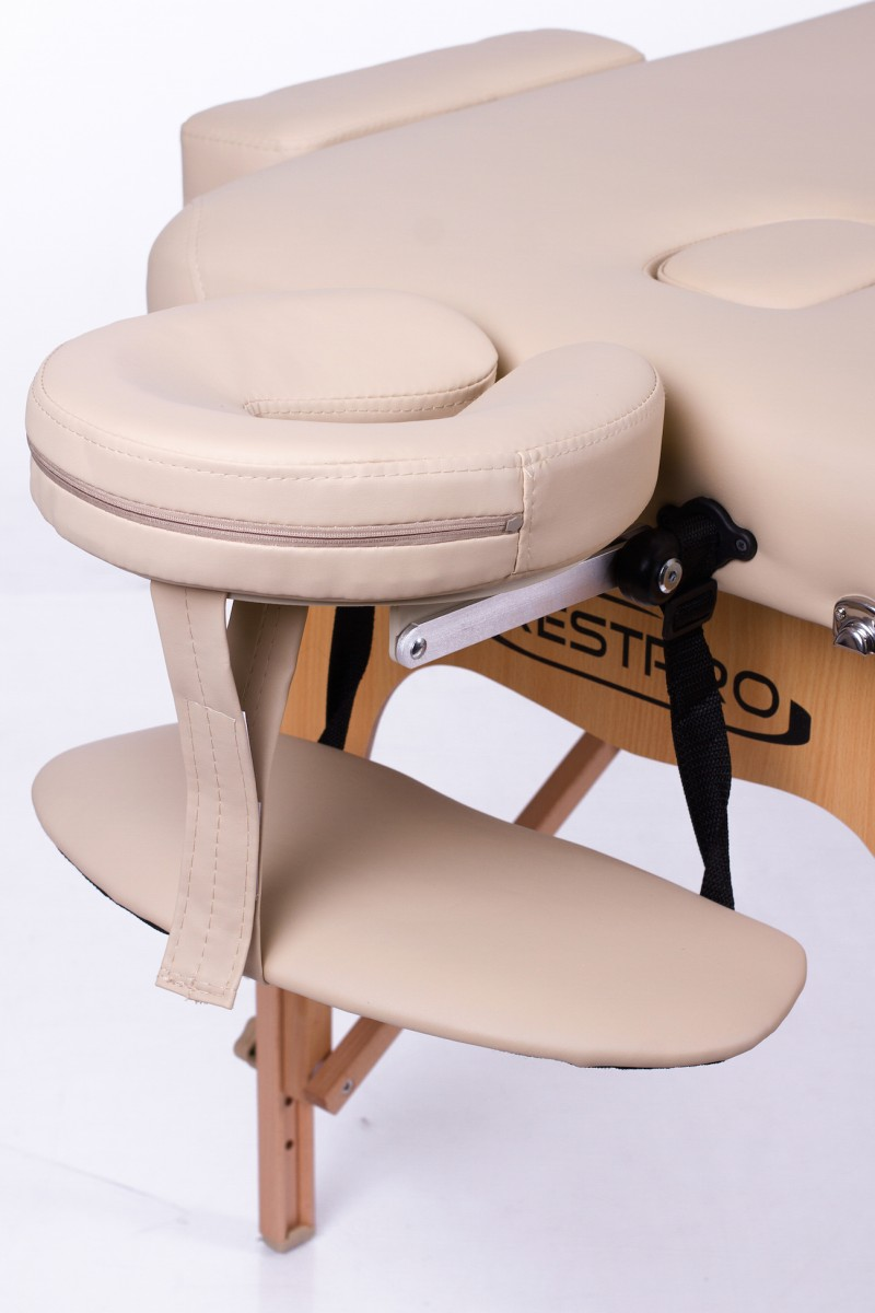 Foldable massage couch table RESTPRO® Memory 2 Beige