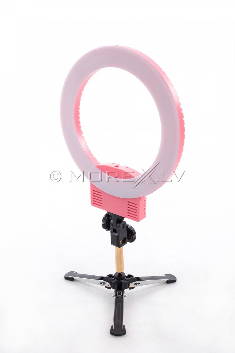 Gredzenveida LED lampa kosmetologiem, Ø33 cm, 36W (9601LED-12)