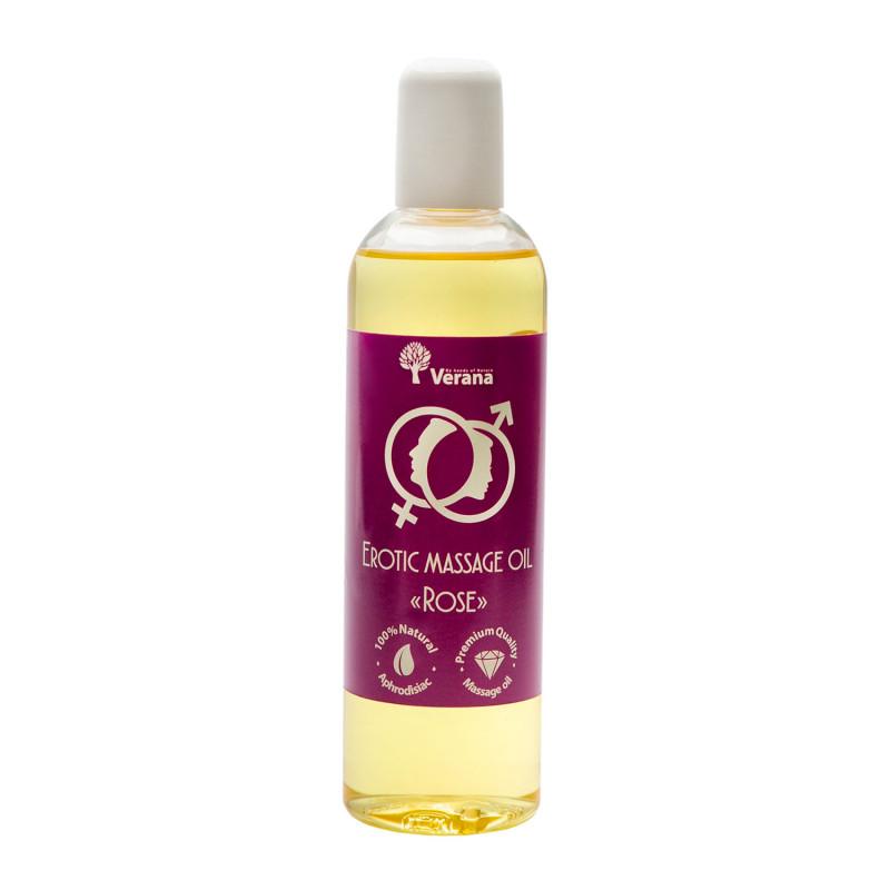 Эротическое массажное масло Verana, Роза 250 мл