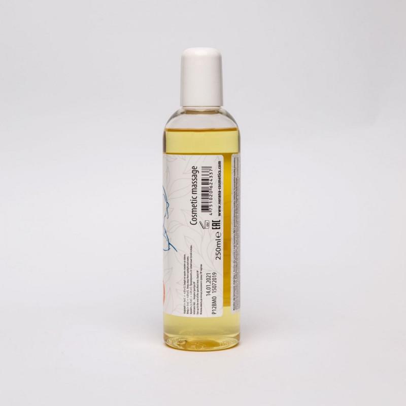 Masāžas eļļa ķermenim Verana Professional, Zaļā tēja 250ml