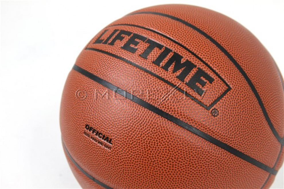 Ādas basketbola bumba Composite Lifetime 1052936