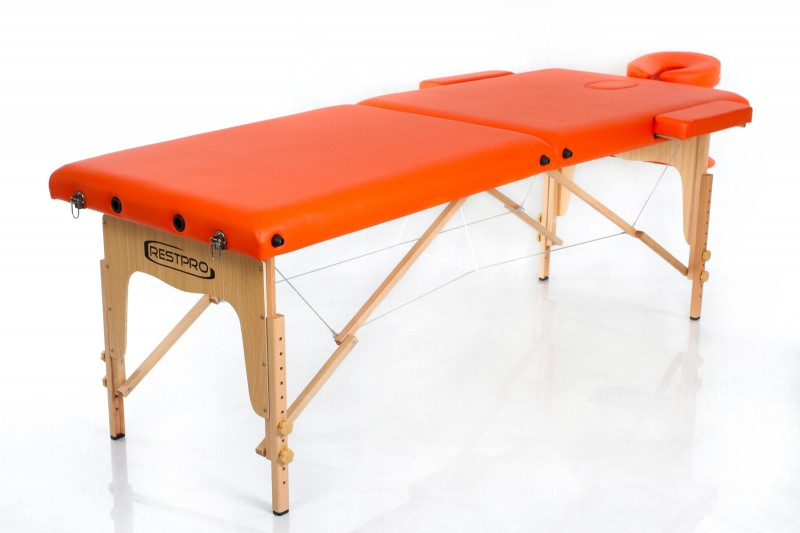 RESTPRO® Classic-2 Orange Portable Massage Table