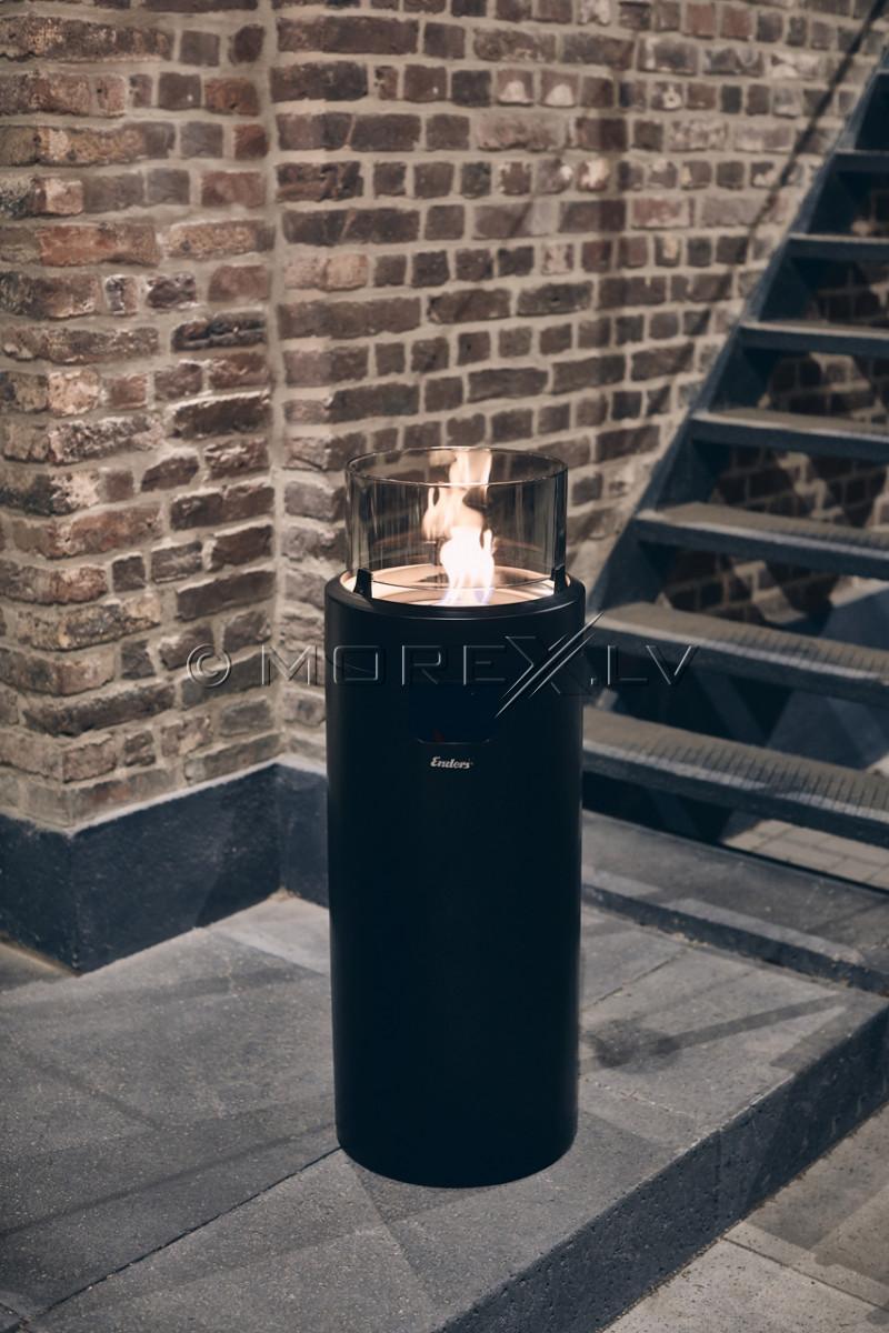 Gāzes āra kamīns Enders NOVA LED L BLACK