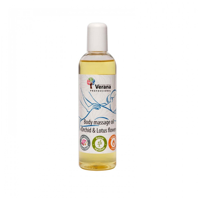 Body massage oil Verana Professional, Orchid&Lotus flower 250ml