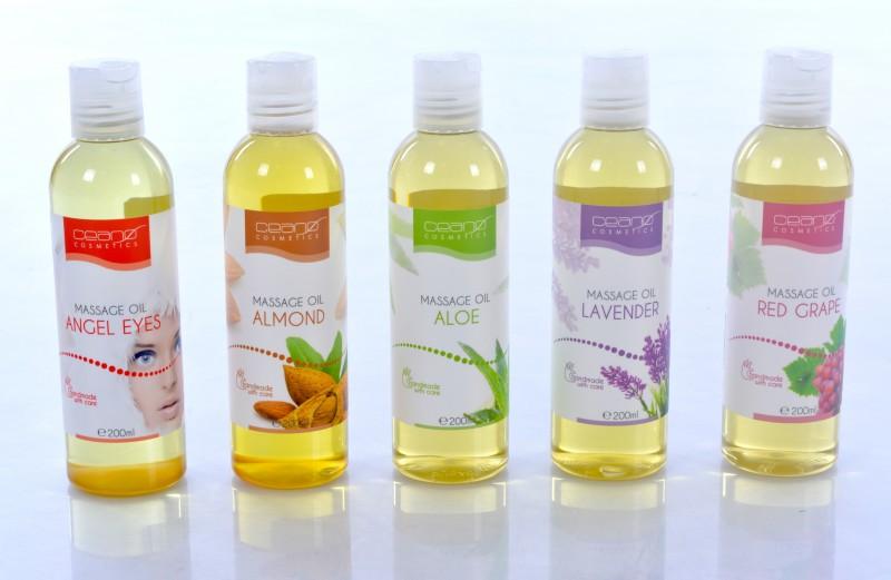 ALMOND Massage Oil Ceano Cosmetics 200ml