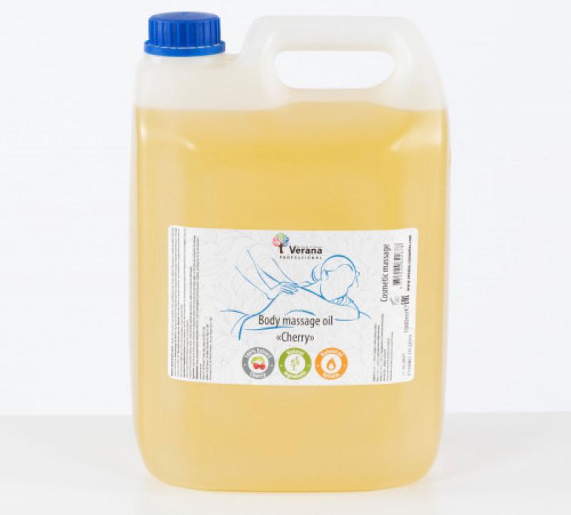 Массажное масло для тела Verana Professional, Вишня 5 Л