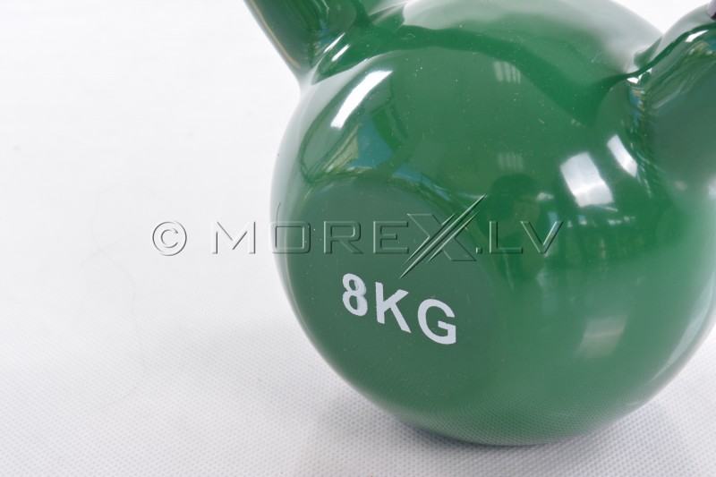 Metal Kettlebell With Vinyl Coating 8 kg
