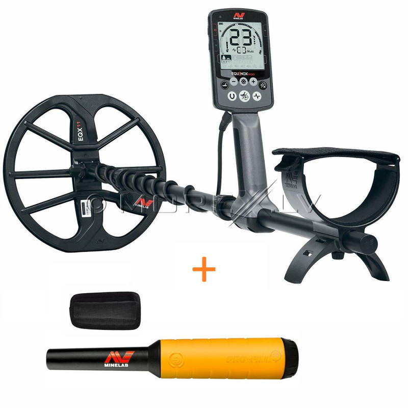 Minelab Equinox 600 metāla detektors + Minelab PRO-FIND 20 PinPointer