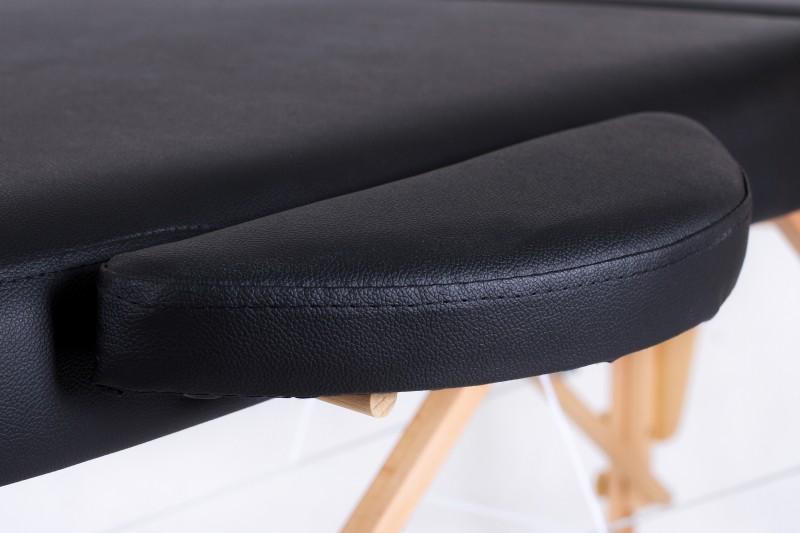 RESTPRO® Classic Oval 2 Black Portable Massage Table