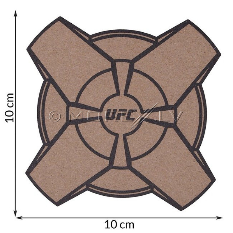 UFC FORCE strike force tracker for measuring speed and impact force