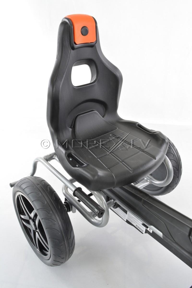 Велокарт (Веломобиль) Go-Kart 1504 чёрный (от 5-12 лет)