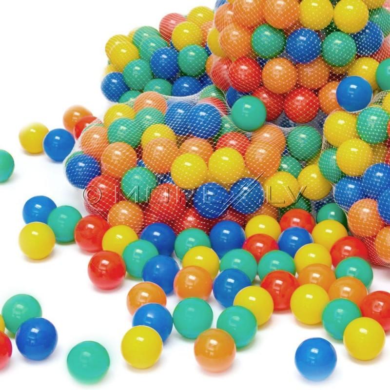 Мягкие шарики для детского бассейна 200 шт. маленькие 6см (00000012)