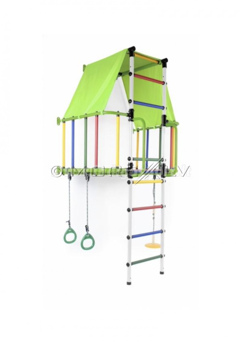 Bērnu rotaļu laukums INDIGO L, 00619-GREEN