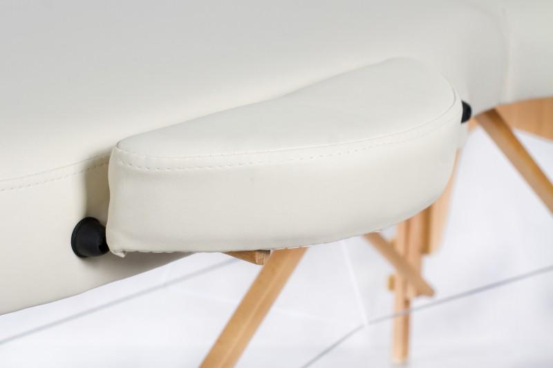 RESTPRO® VIP OVAL 3 CREAM Portable Massage Table
