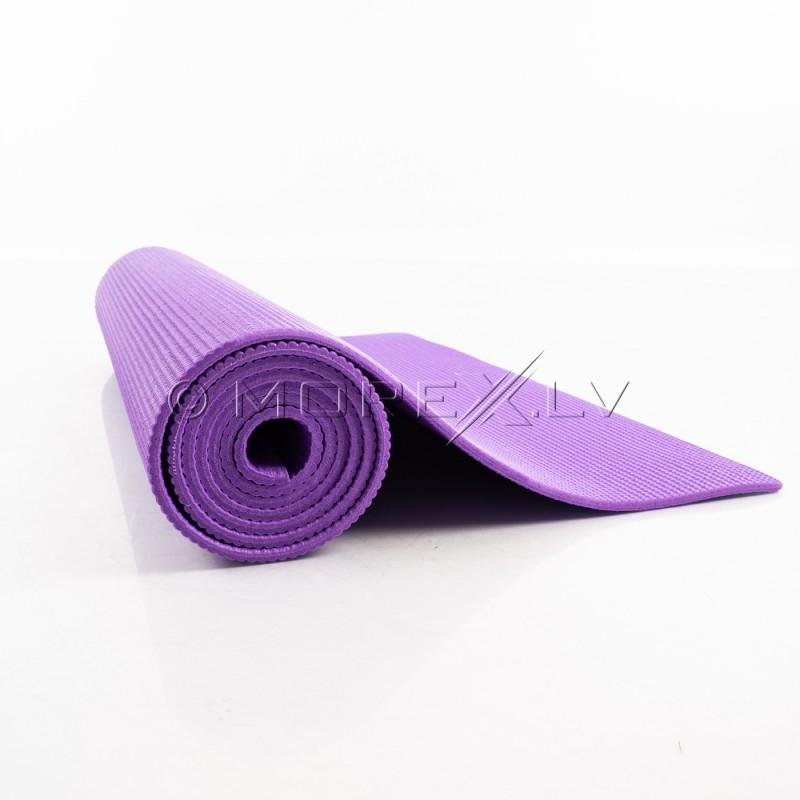 Jogas paklājiņš 173x61x0.5 cm (vingrošanas paklājs) violēts