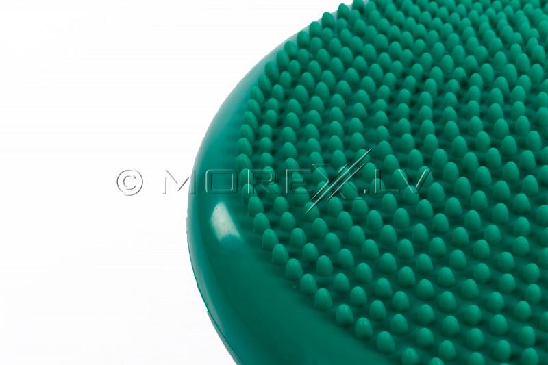 Masāžas Līdzsvara Balansa Spilvens 34 cm zaļš (Togu)