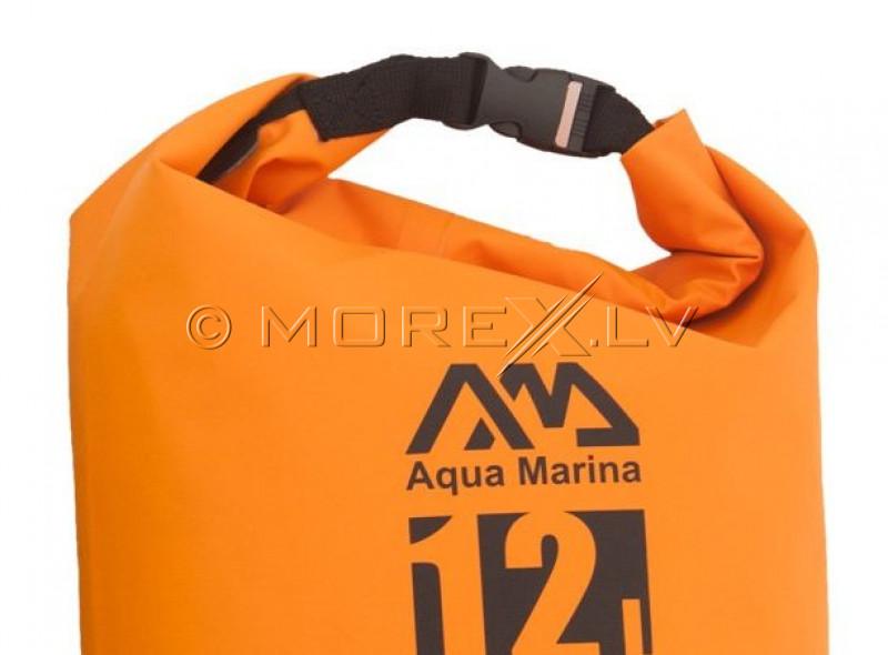 Ūdensizturīga soma Aquamarina Dry Bag Super Easy 12L S19