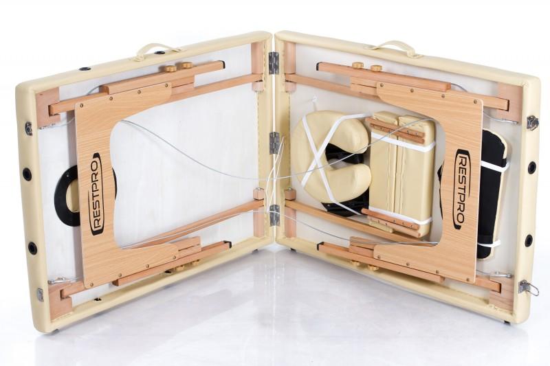 RESTPRO® Classic-2 Beige masāžas galds (kušete)