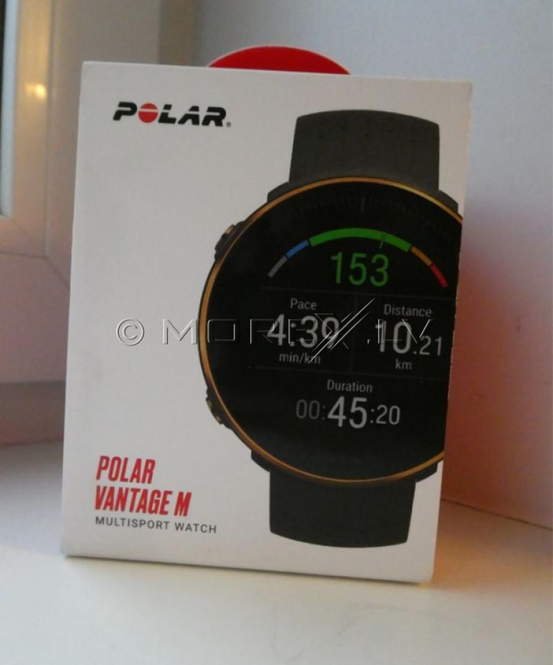 Sporta pulksteņis POLAR VANTAGE M BLACK-COPPER, M/L