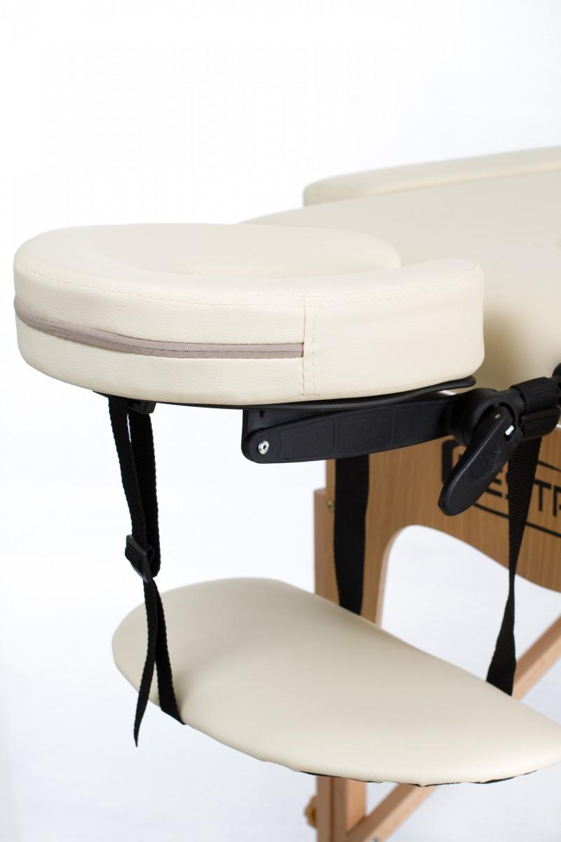 Restpro classic 2 cream portable massage table portable for Massage table