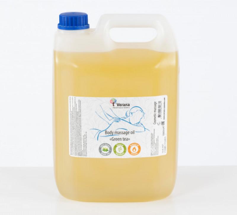 Массажное масло для тела Verana Professional, Зелёный чай 5 Л