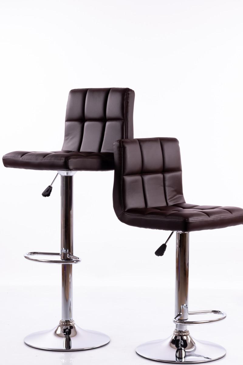 Brūni bāra krēsli B06 - 2 gb.