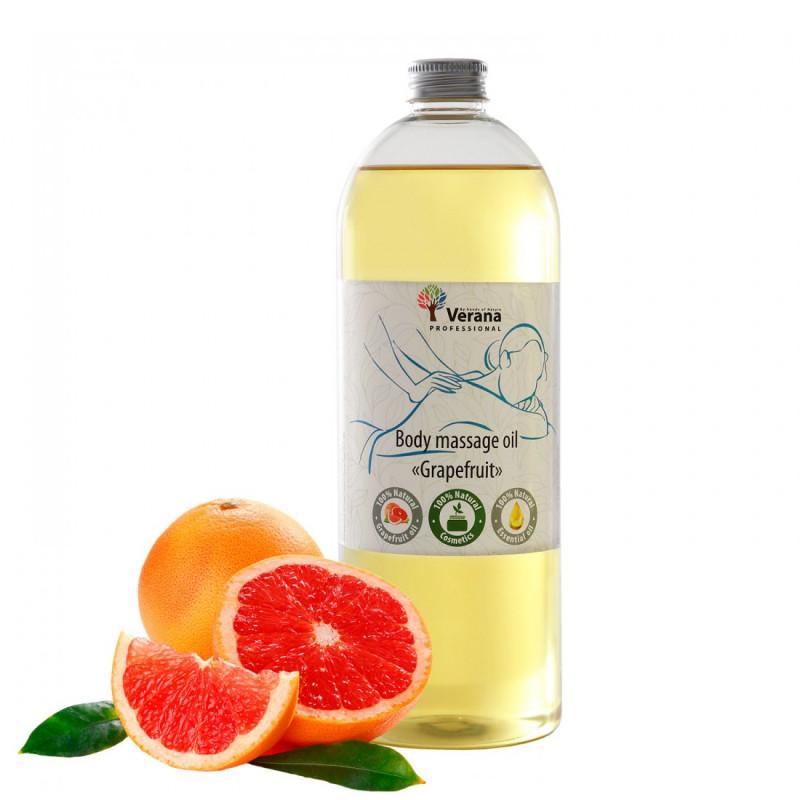 Masāžas eļļa ķermenim Verana Professional, Greipfrūts 1 litrs