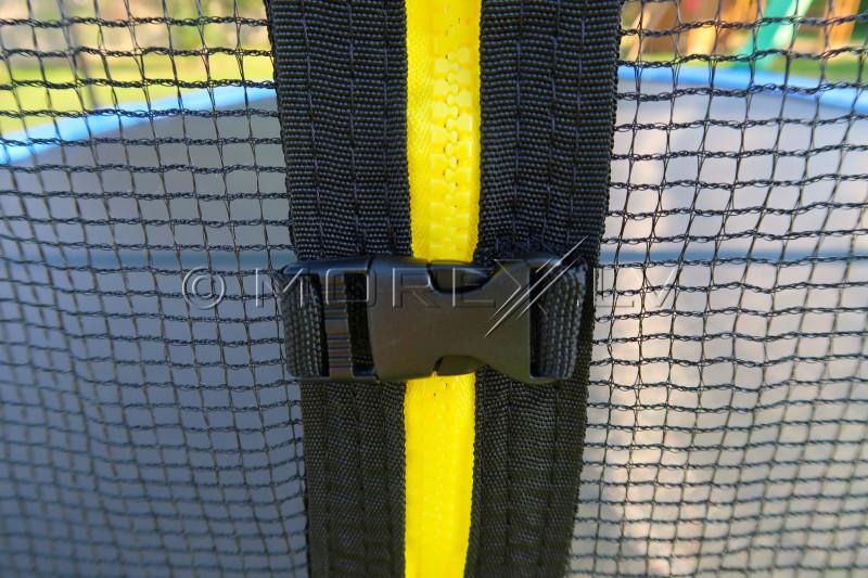 Batuts 305 cm ar drošības tīklu un kāpnēm 10ft (3.05 m)