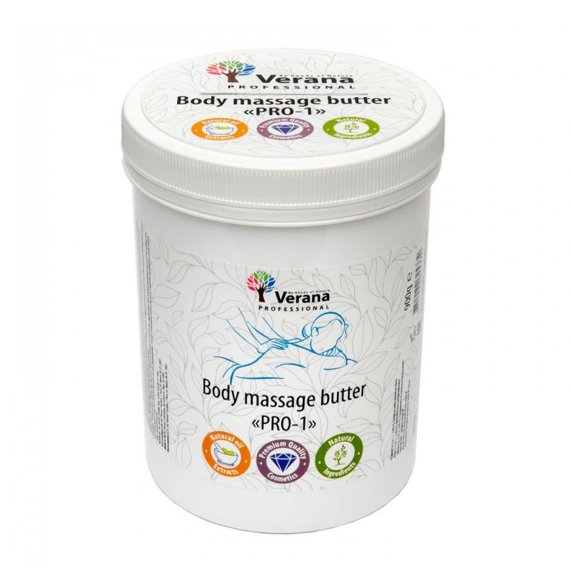 Твёрдое массажное масло для тела Verana PRO-1 900гр