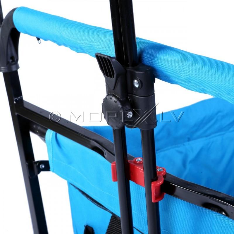 Saliekamie bērnu ceļojumu ratiņi Fuxtec CT500 (ceļojuma pastaigu rati)