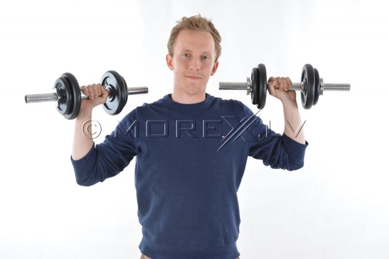 Metāla hantele 10 kg