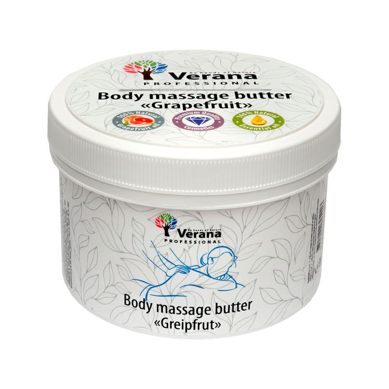 Masāžas sviests ķermenim Verana Greipfrūts 450 gr