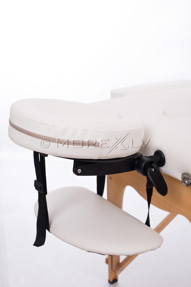 Masāžas galds (kušete) balts 185x60 cm