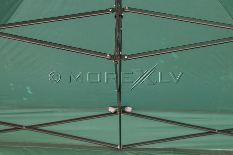 Pop Up Saliekamā nojume 2.92x2.92 m, bez sienām, Zaļa, H sērija, tērauds (tents, paviljons, telts)