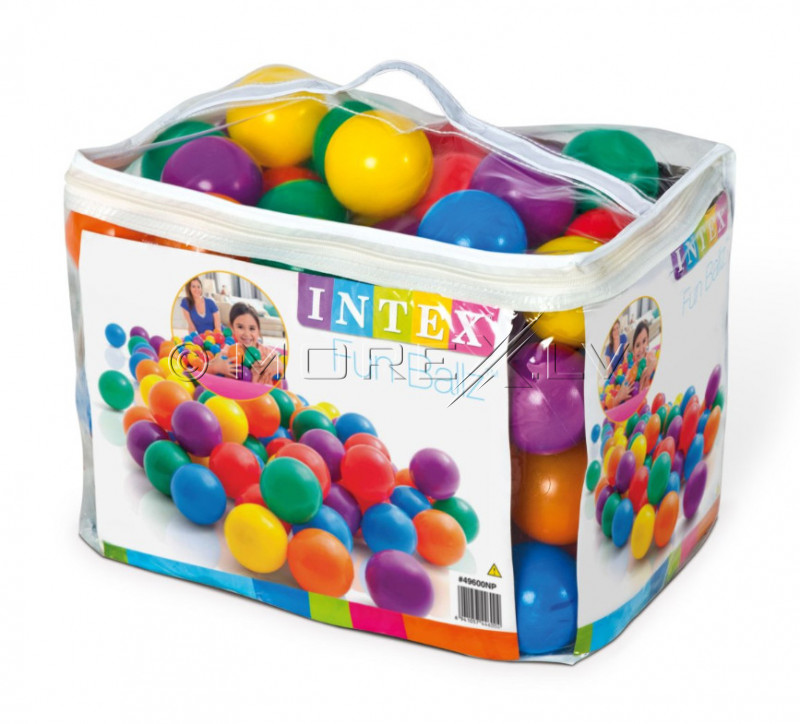 Intex big balls 100pcs (8cm)