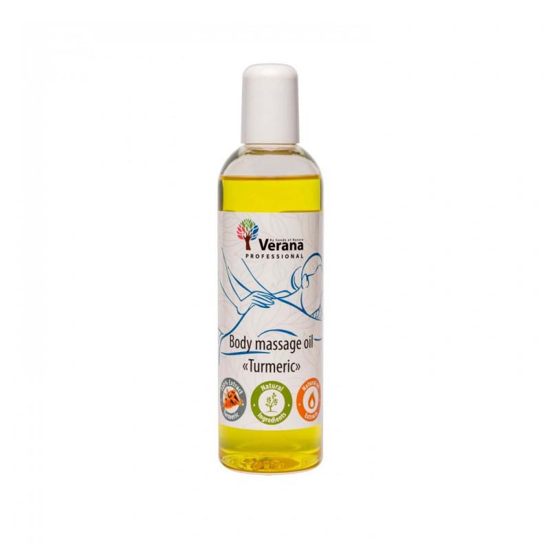 Массажное масло для тела Verana Professional, Куркума 250мл