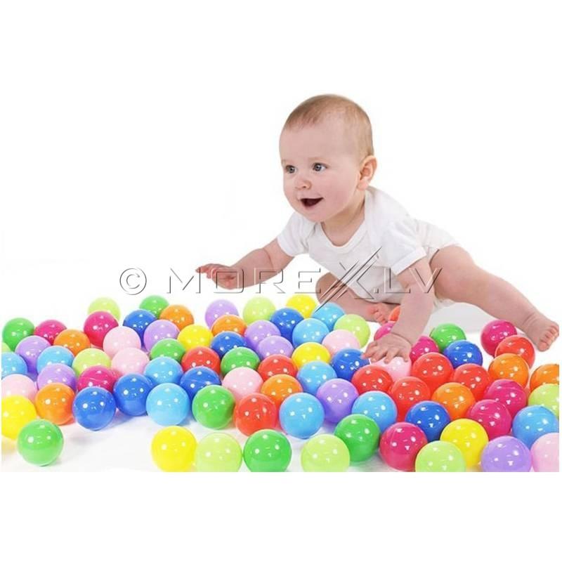 Мягкие шарики для детского бассейна, 200шт., 5.5 см