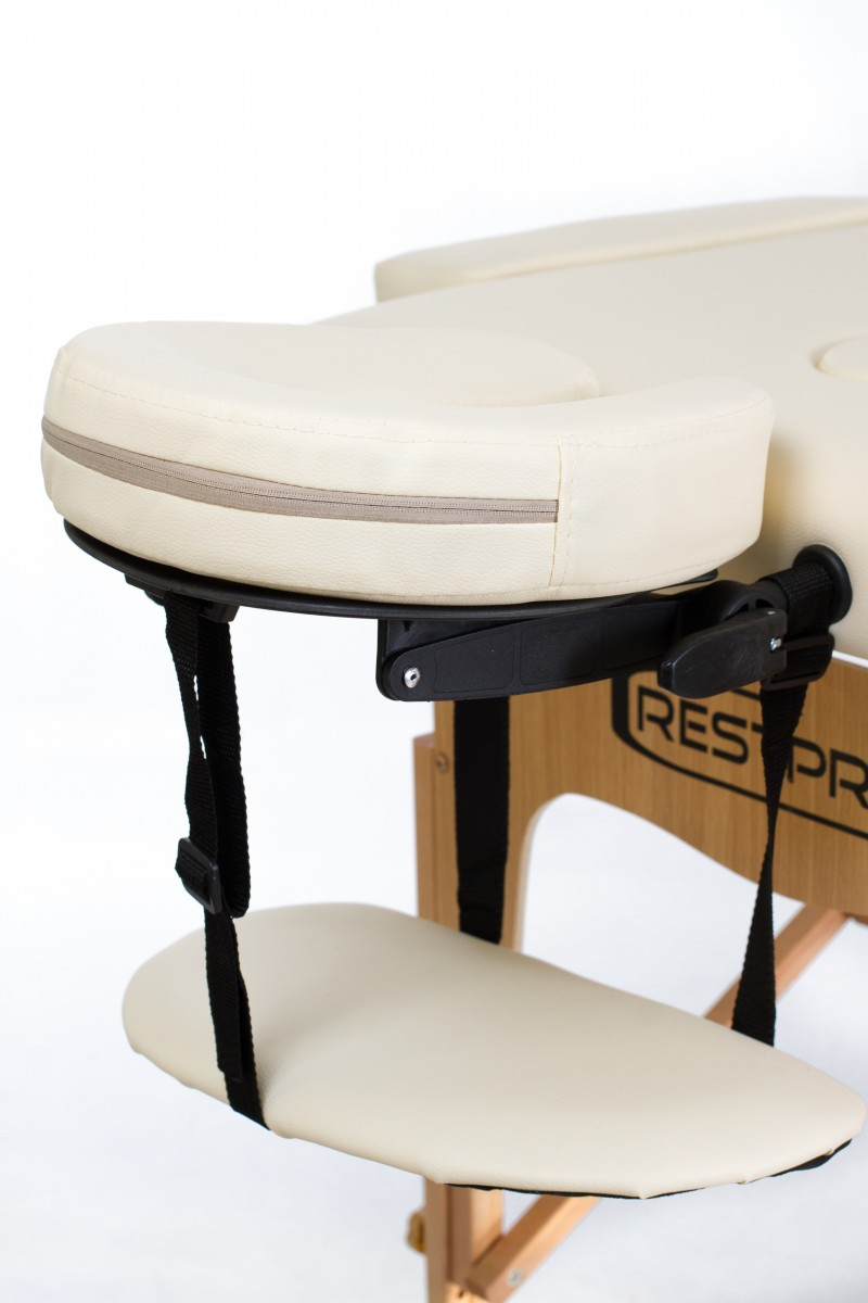 RESTPRO® Classic-3 Cream Portable Massage Table