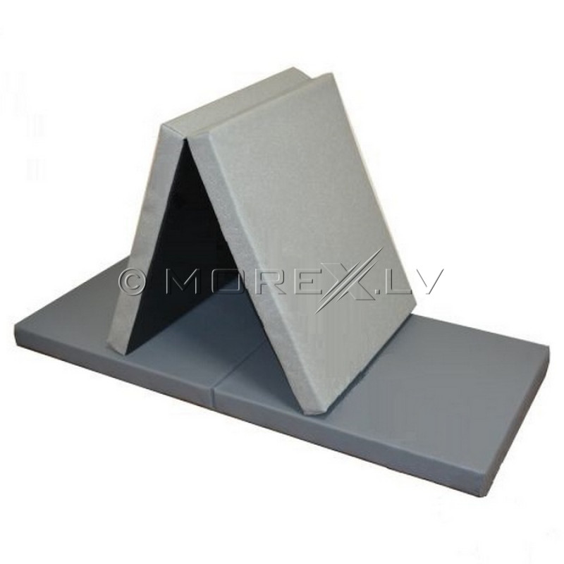 Leather safety mat 66x160 cm, gray