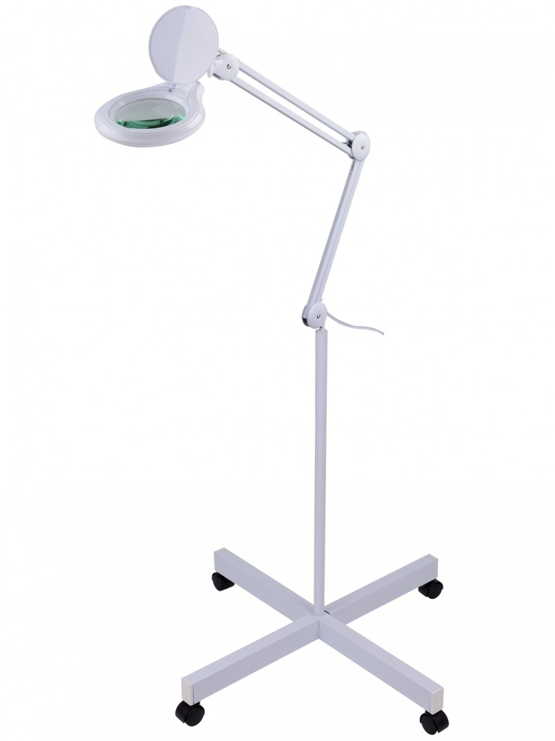Lampa ar lupu (kosmetologiem, pedikīram) 9003LED3D-FS