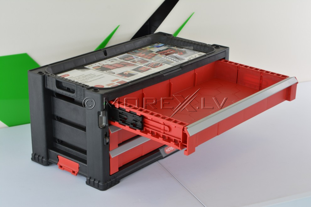 3 Drawer Tool Chest System Keter 51149263 Drawer Tool